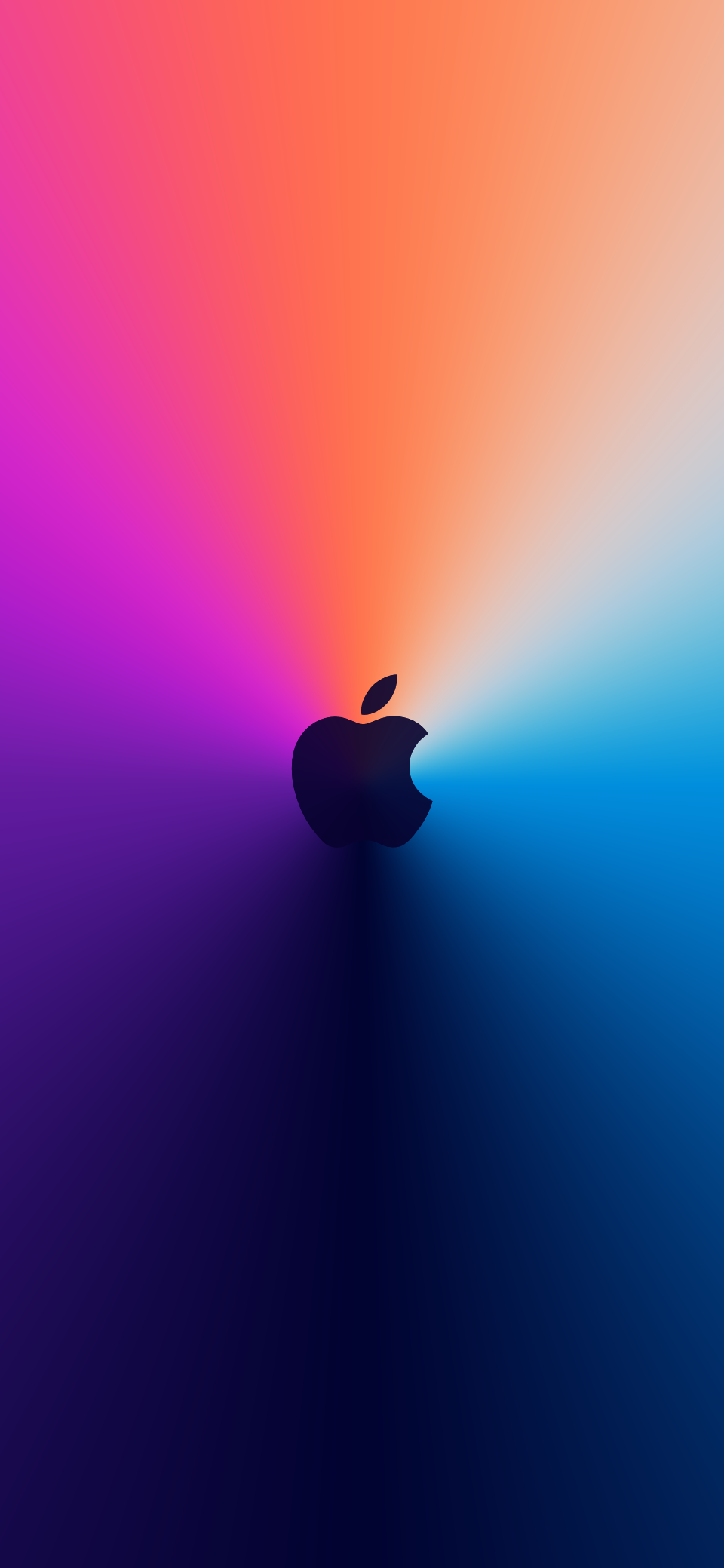 Apple One More Thing Event wallpaper idownloadblog surenix iPhone logo