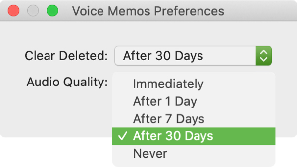 Clear Deleted Voice Memos on Mac