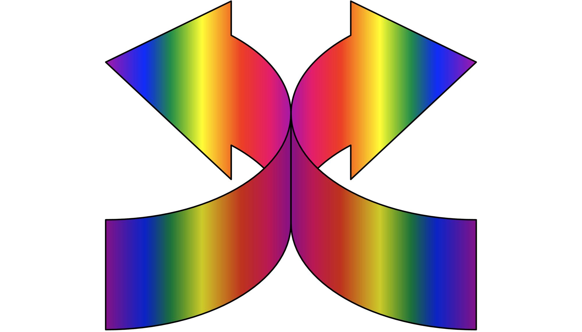 Redirect Gradient Arrows