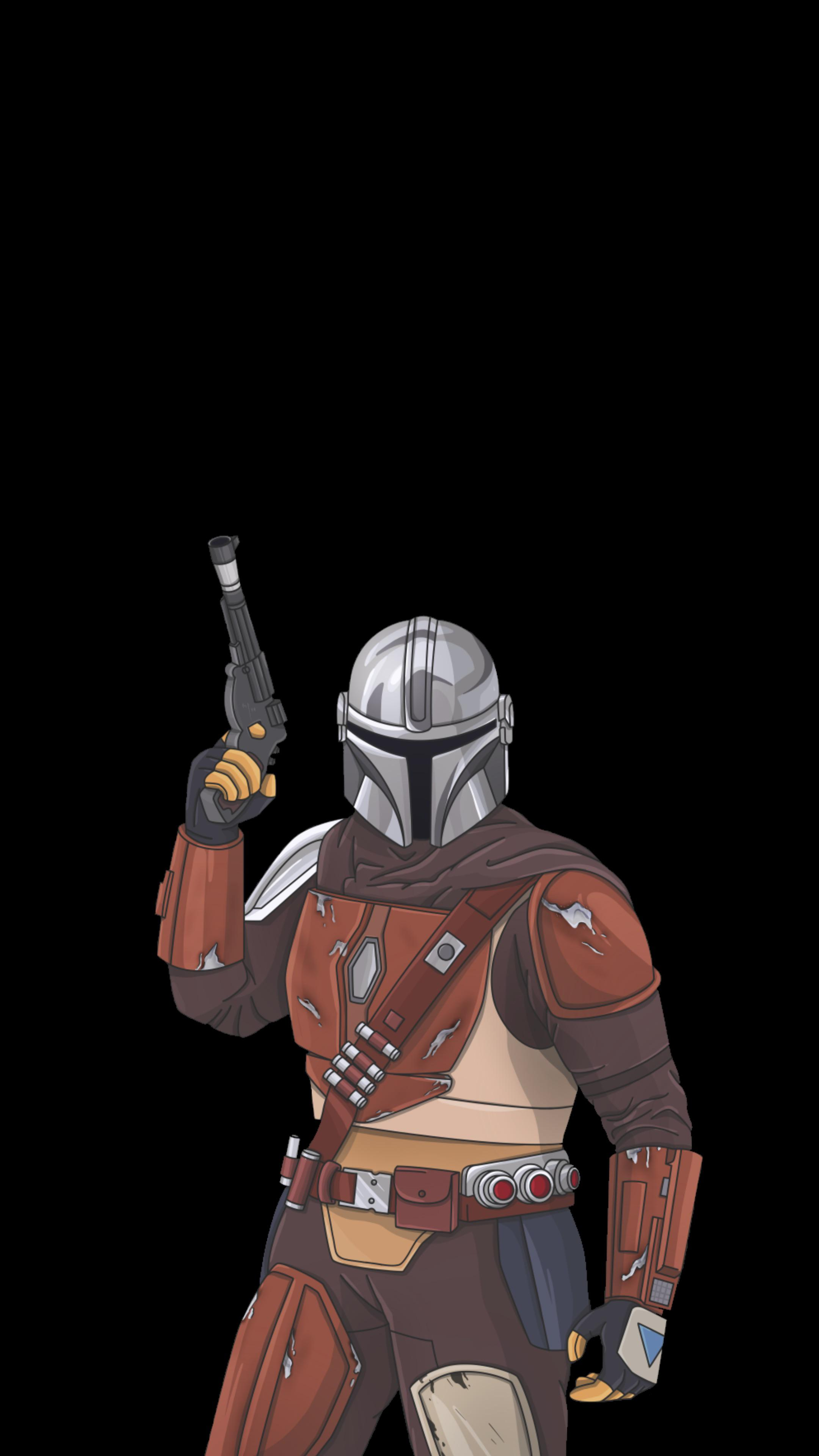 The Mandalorian Wallpapers Oled Iphone Screens Edition