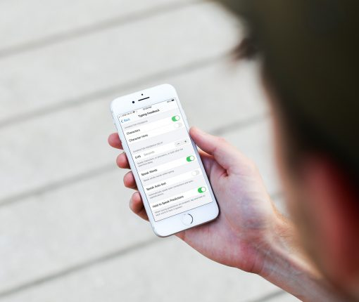 Typing Feedback Options on iPhone