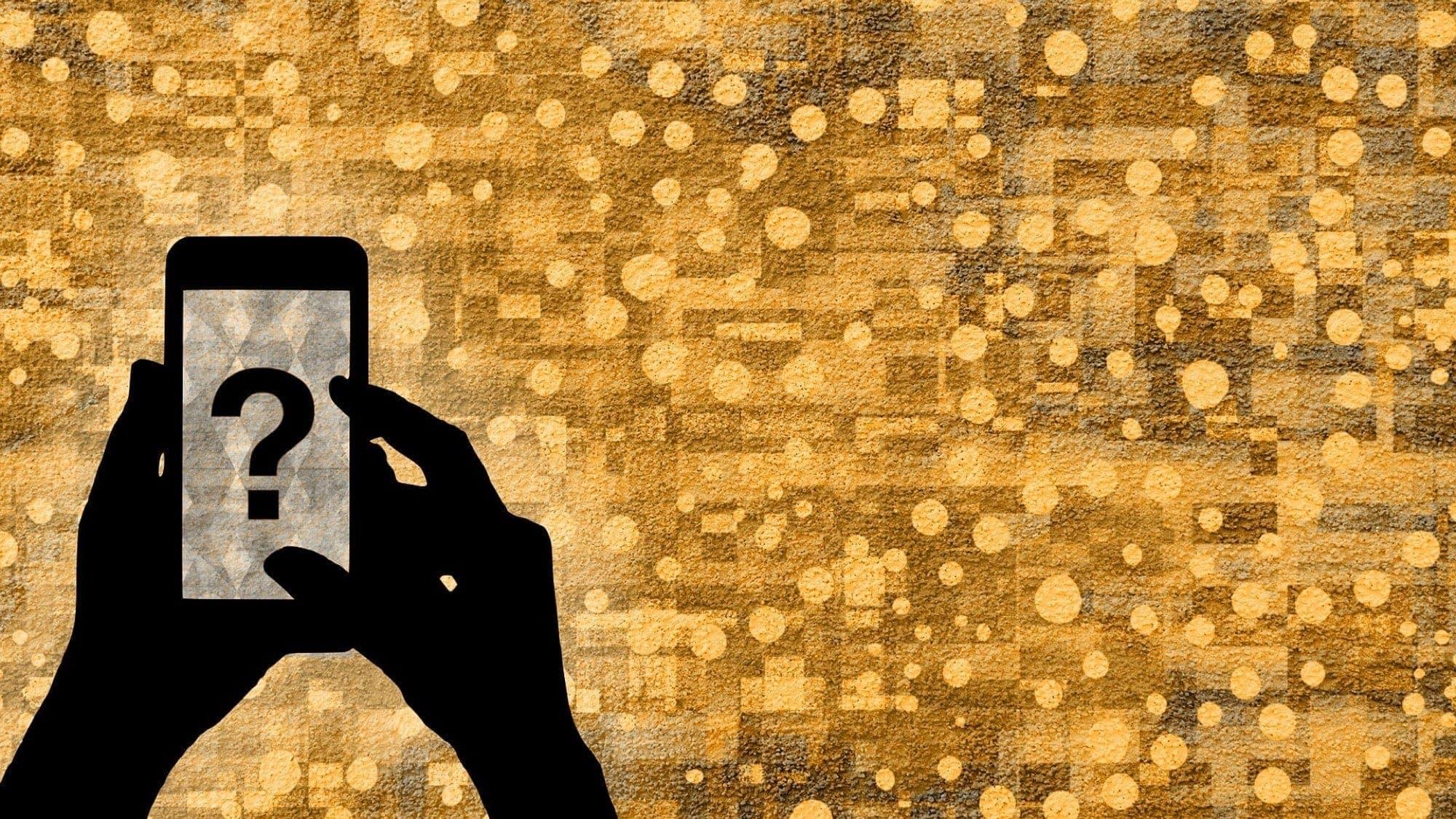 Wo ist iPhone Fragen - Pixabay