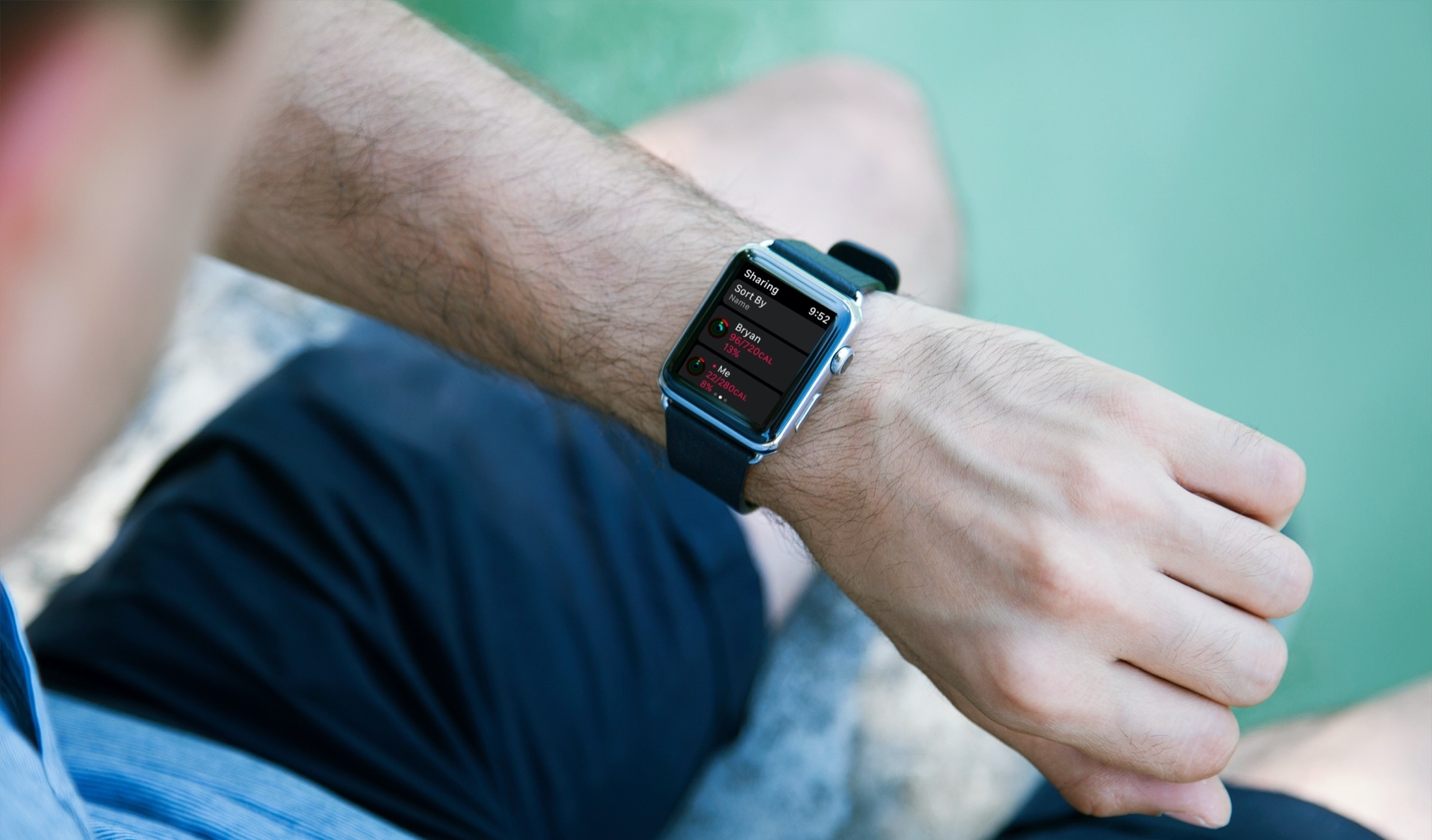 Activity Sharing on Apple Watch