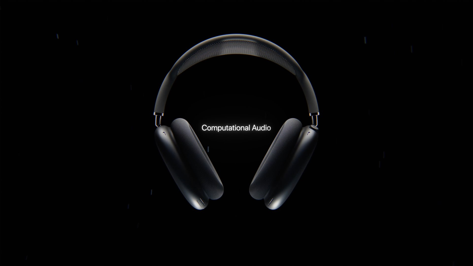 Reset AirPods Max tutorial - an image showing a pair of black AirPods Max headphones set against a black background