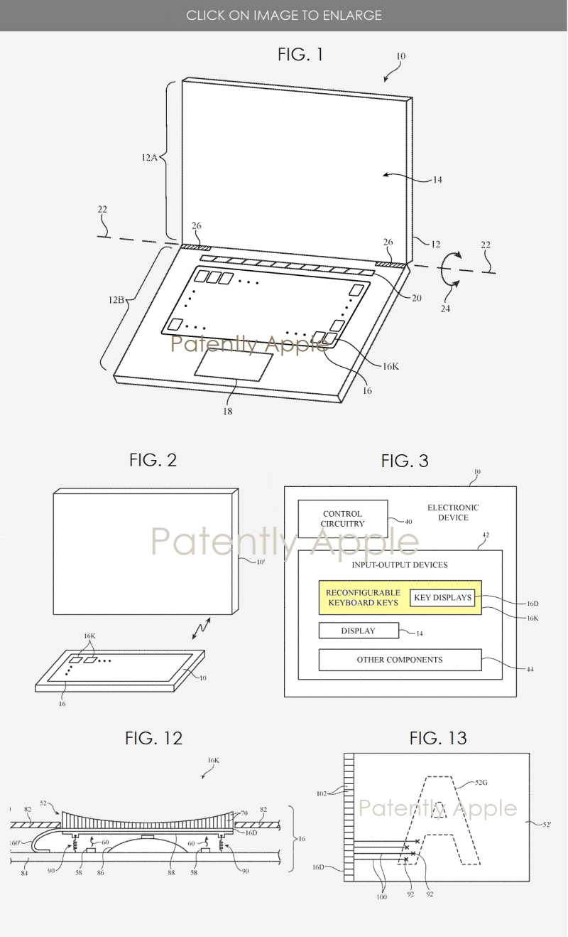 Apple is Researching Reconfigurable Mac Keyboards