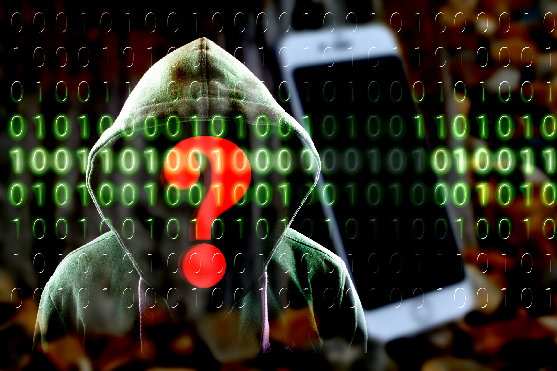 Cyber Hacker iPhone