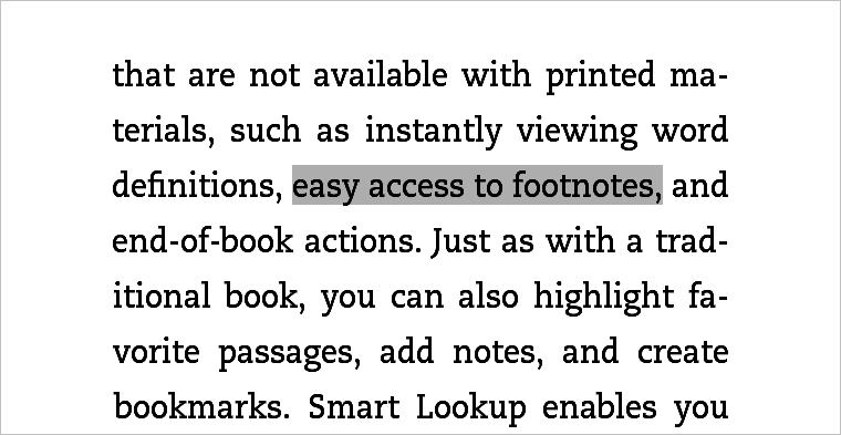 Highlighted Text on Kindle Paperwhite
