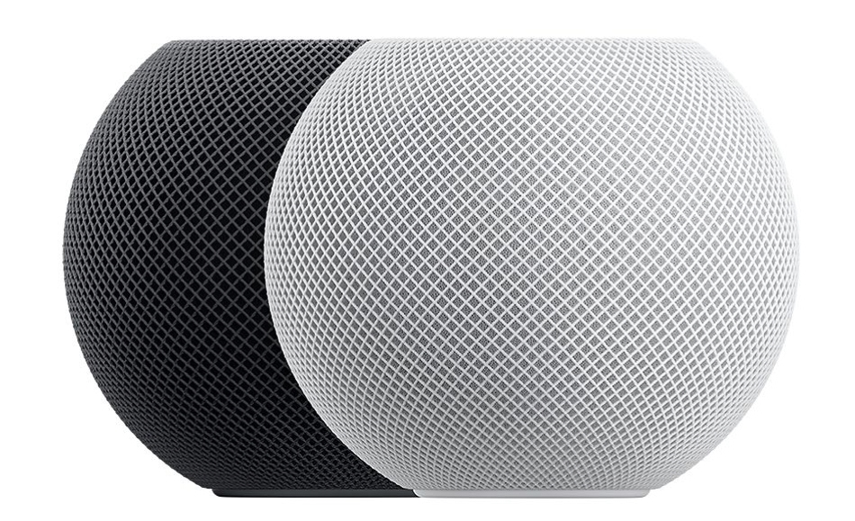 HomePod minis Gray and White