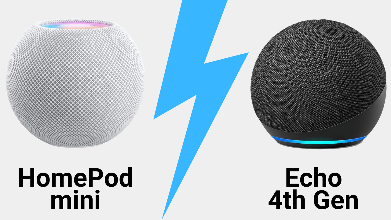 HomePod mini vs Amazon Echo