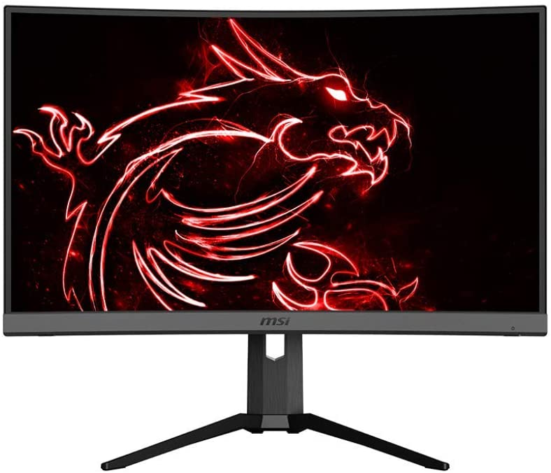 Best inexpensive curved monitor: MSI Optix Mag 272CQR