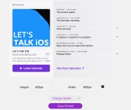 Apple Podcasts Marketing Tools Podcast Player for Show