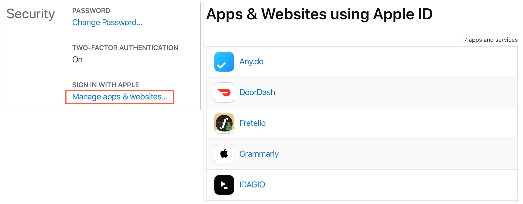 Apps Using Apple ID Online