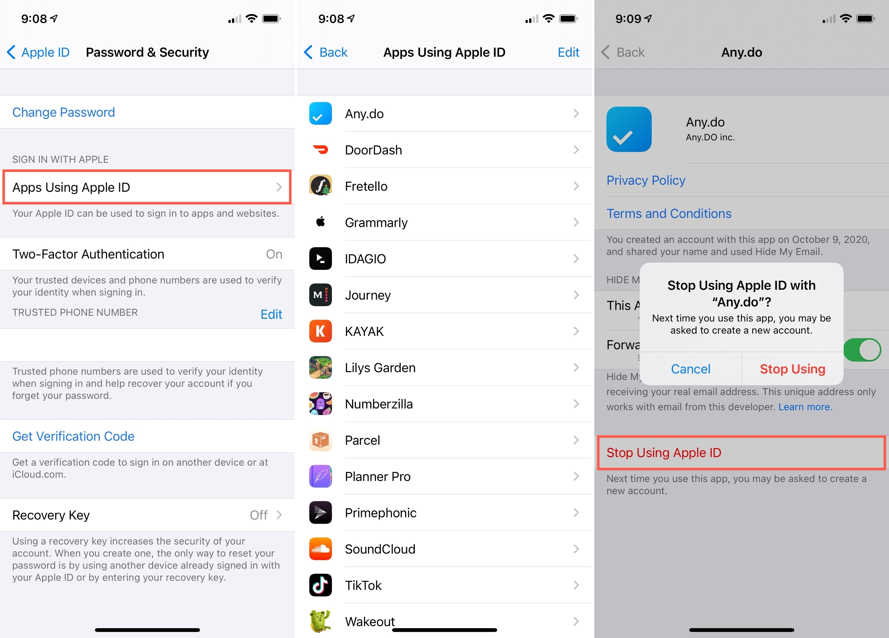 Apps Using Apple ID on iPhone