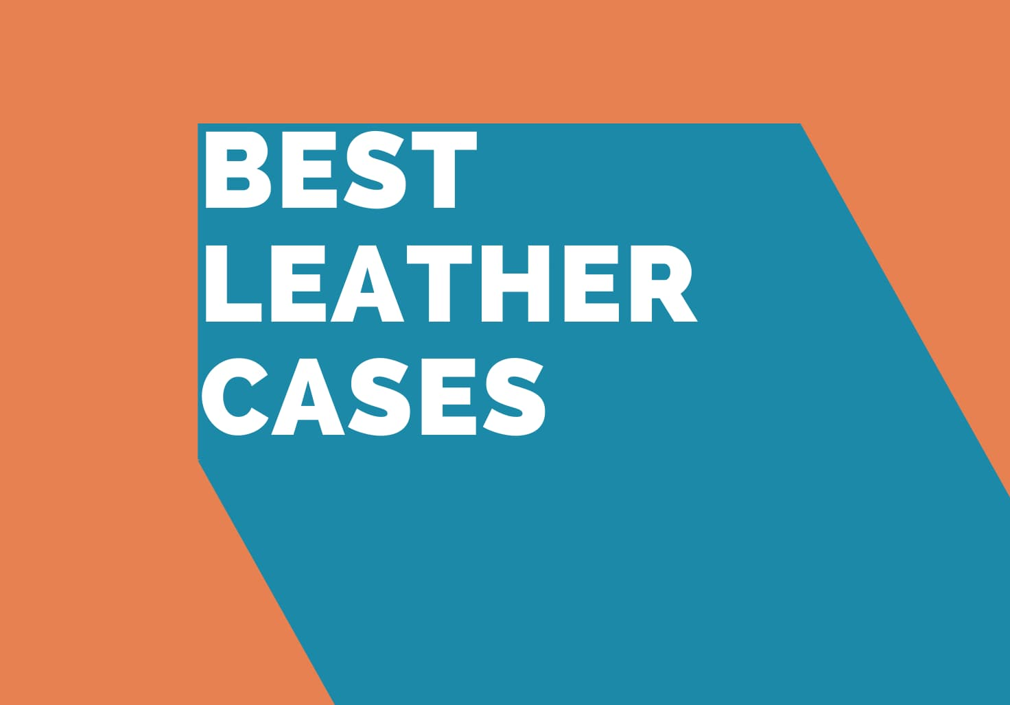 The best leather cases for iPhone 12