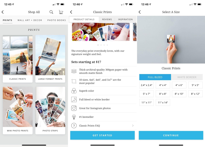 Print Studio on iPhone