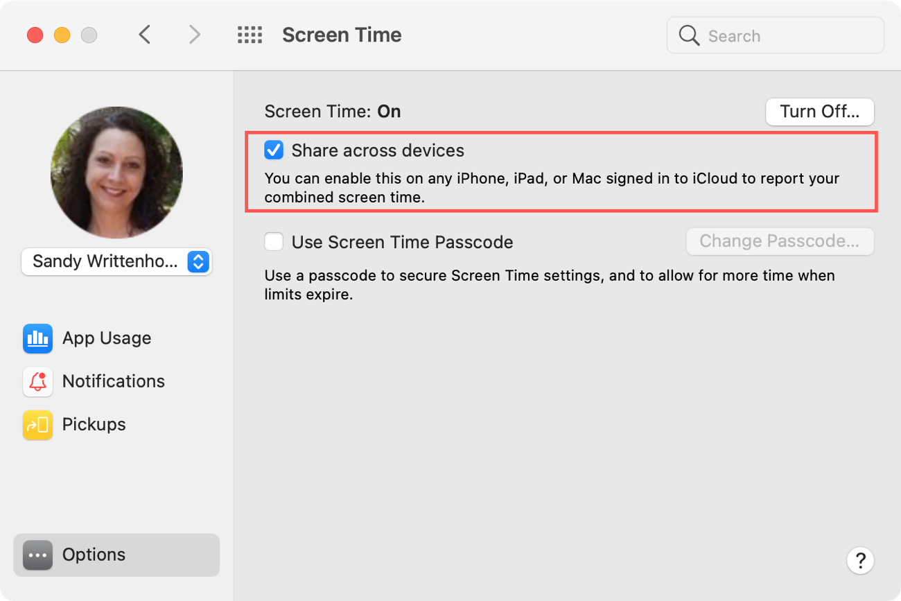 Screen Time Mac Share Across Devices