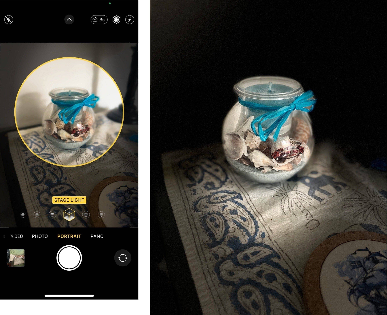 iPhone Camera Portrait Mode