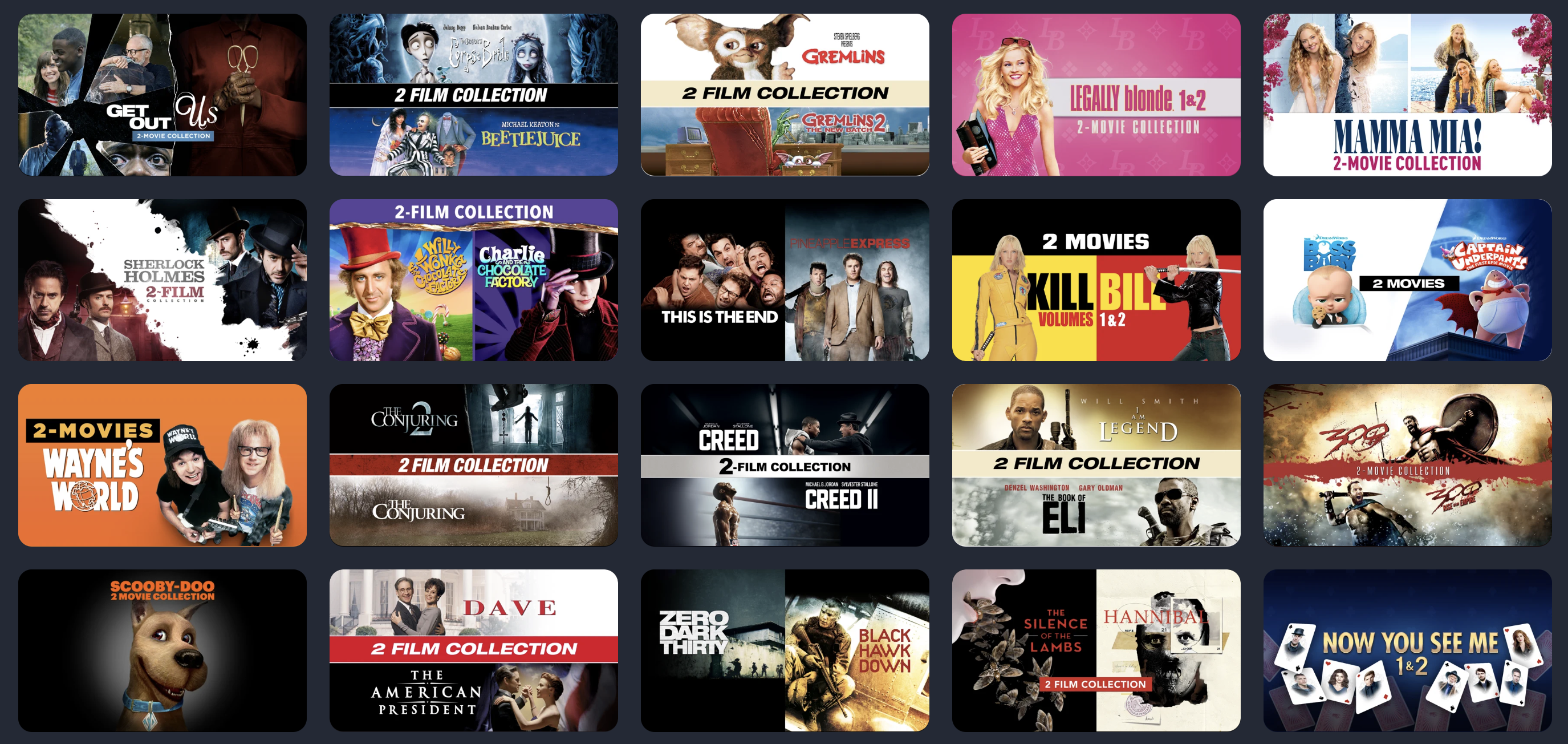 iTunes movie deals: 4K movies $5, Kill Bill double feature $10, Fast & Furious collection $30, and more