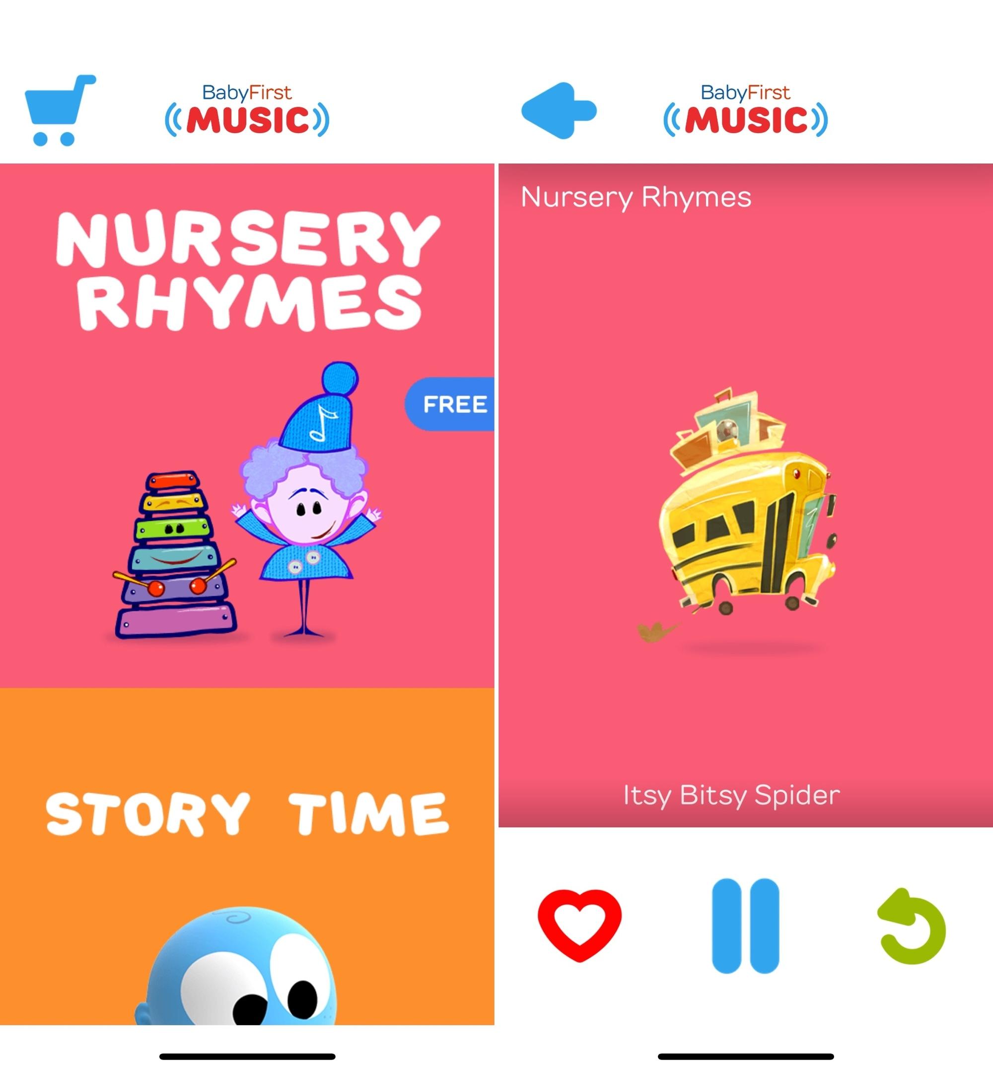 BabyFirst Baby Music on iPhone