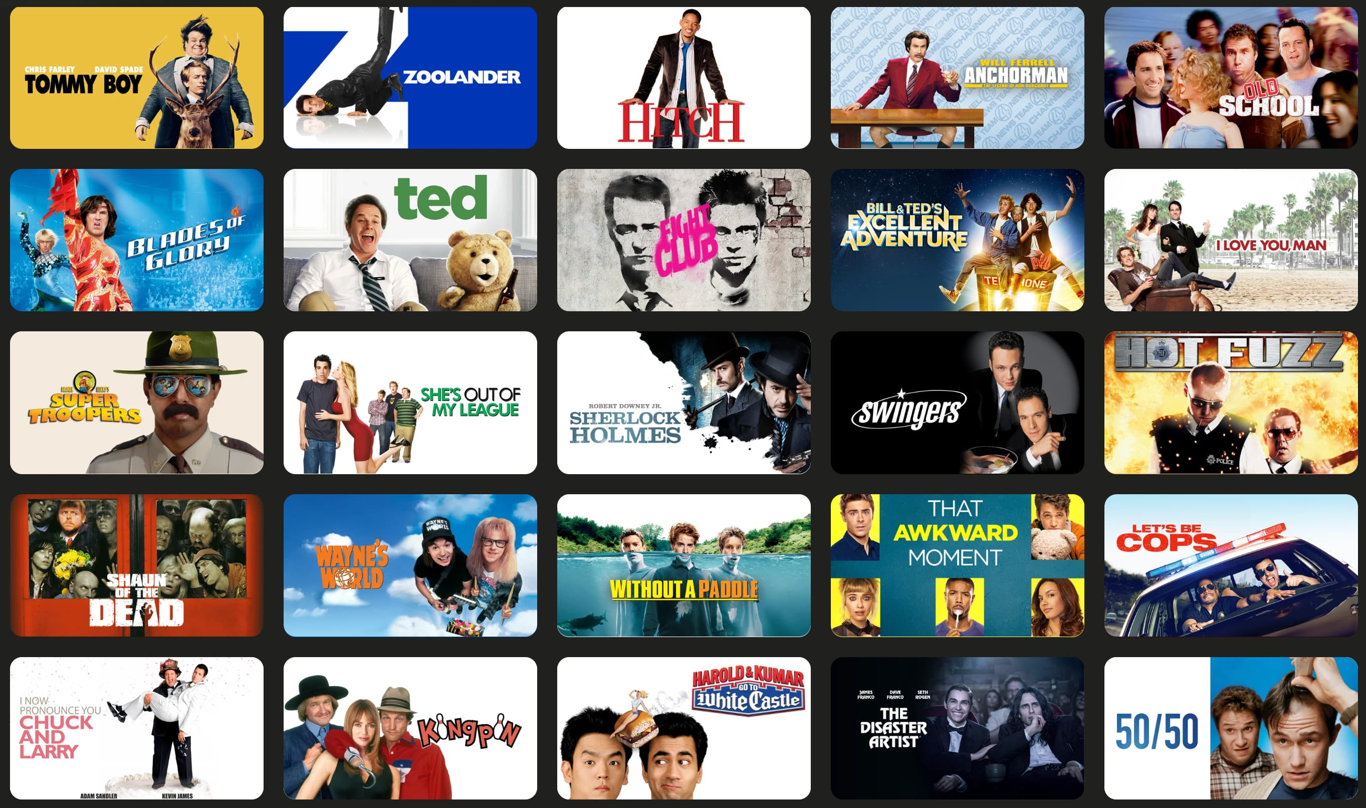 Fight Club, Hot Fuzz, The Departed, Tommy Boy and more iTunes movies on sale for $5