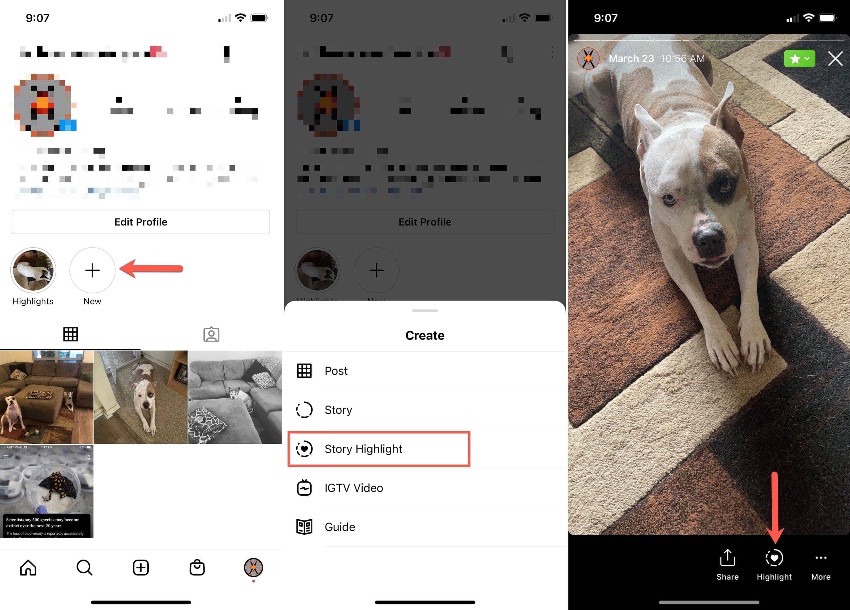 Add an Instagram Story Highlight
