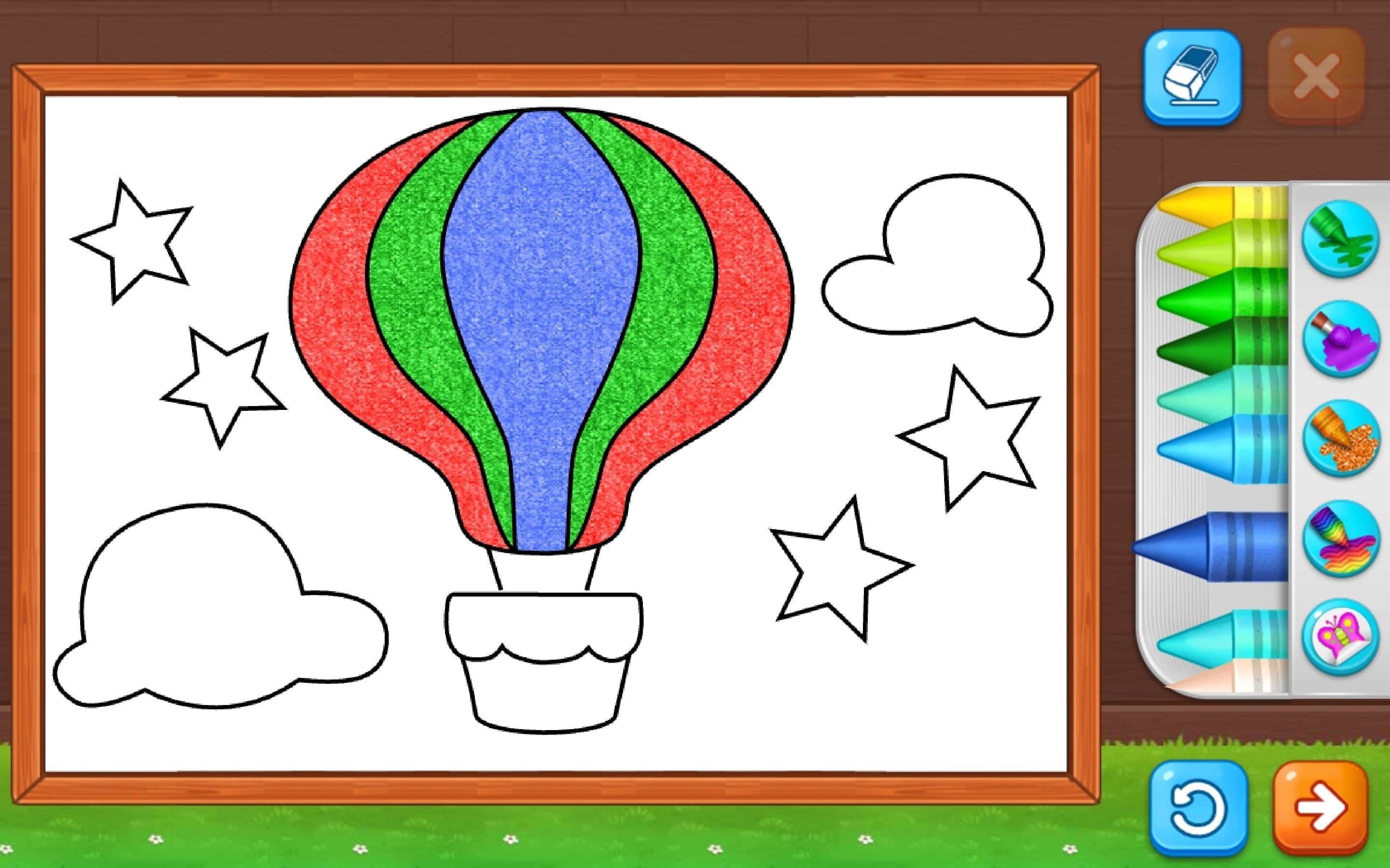 Coloring Games Painting Glow for Kids on Mac