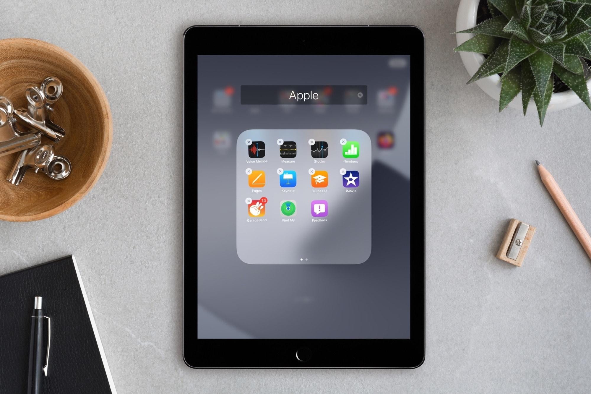Feedback Assistant iPad No Jiggle