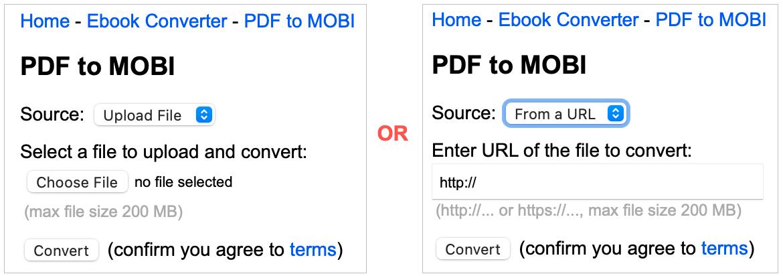 Online Converter Convert PDF to Kindle Format