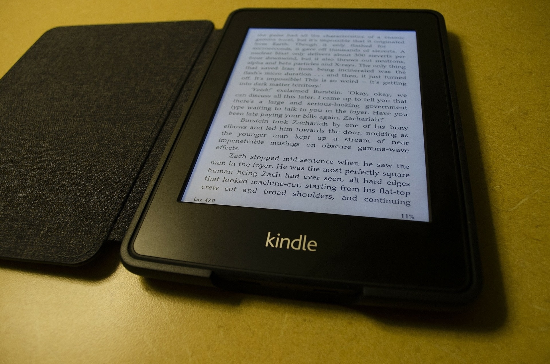 Read Book on Kindle Paperwhite