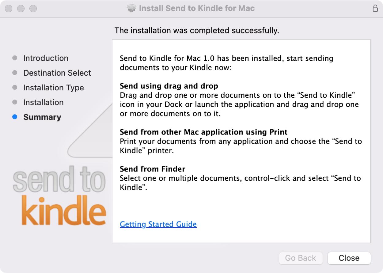 Send to Kindle App Installer