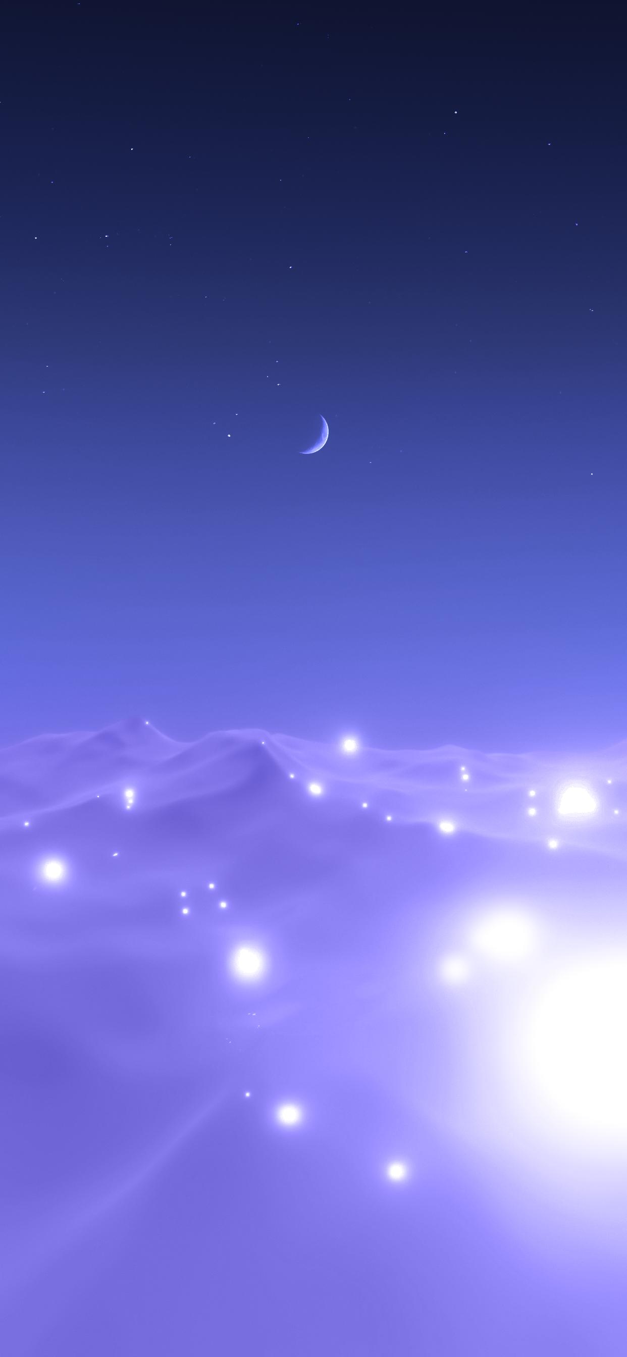 fantasy cloud iphone wallpapers Mirac iDownloadBlog above night