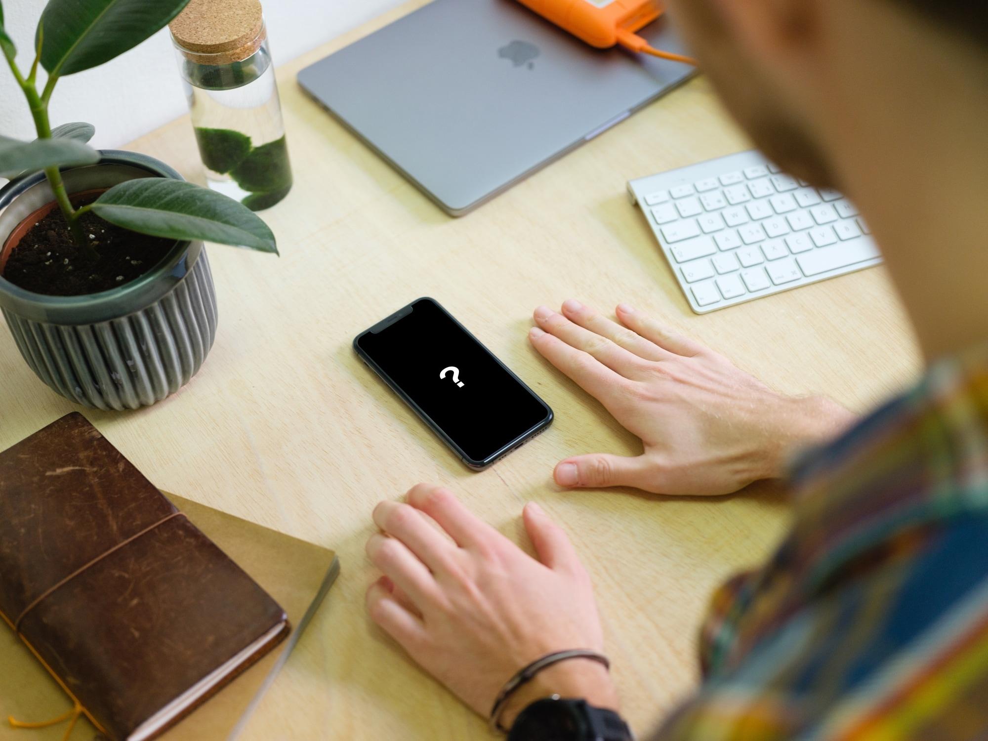 iPhone Question Mark - Apple Billing