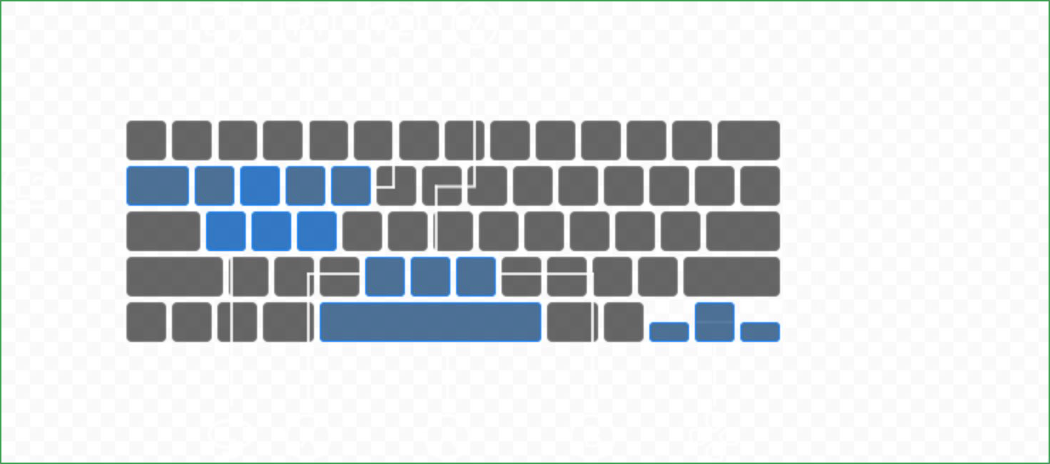 A Mac screenshot showing the new interface in macOS Big Sur 11.3 for mapping game controller buttons to custom keyboard and mouse layouts