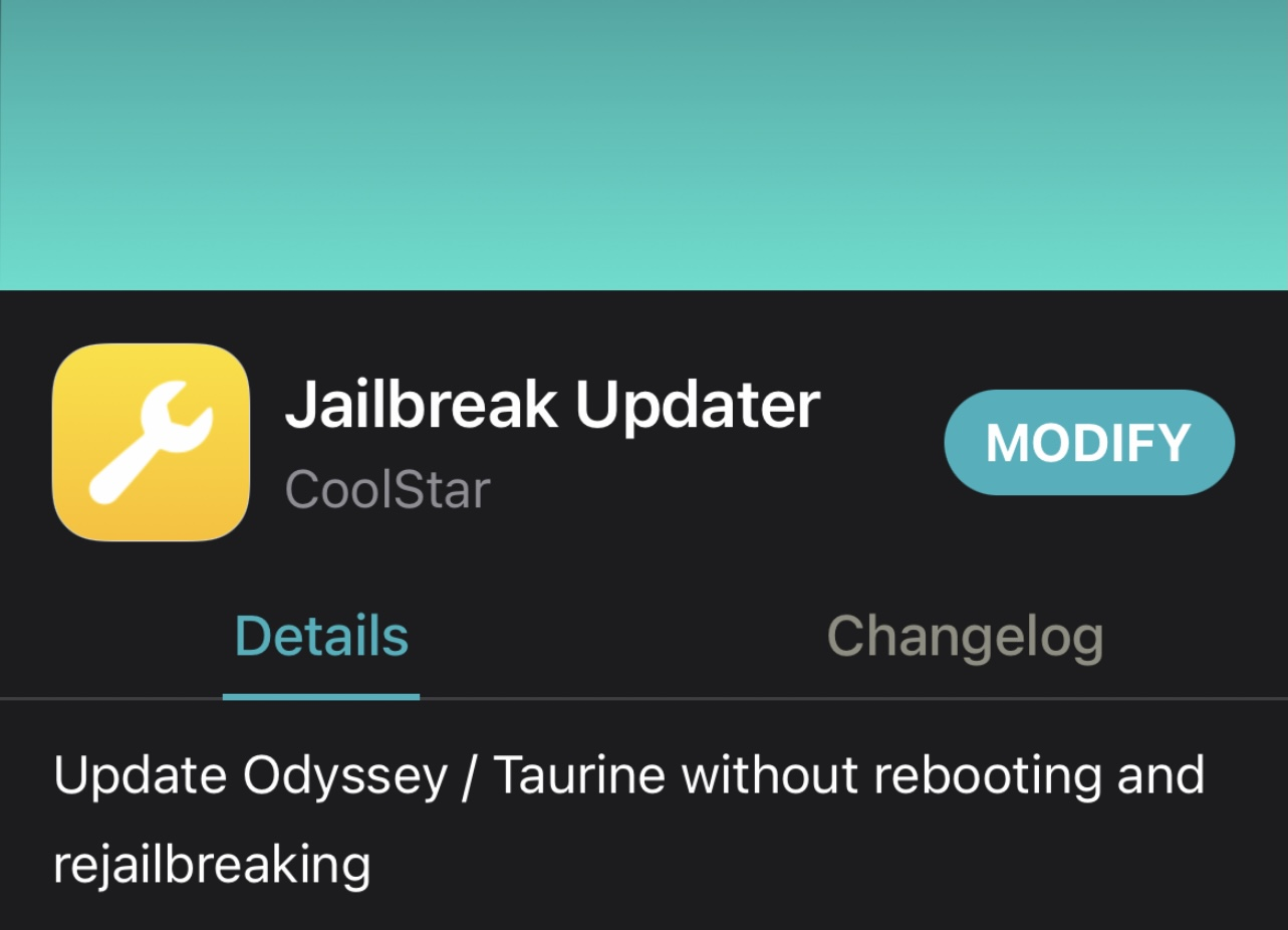 New Jailbreak Updater add-on lets Taurine users update their jailbreak via Terminal without rebooting