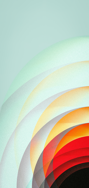 Concentric circle iPhone wallpaper iEDITWALLS retoka idownloadblog red corner