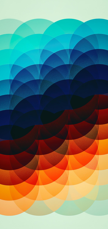Concentric circle iPhone wallpaper iEDITWALLS retoka idownloadblog spectrum