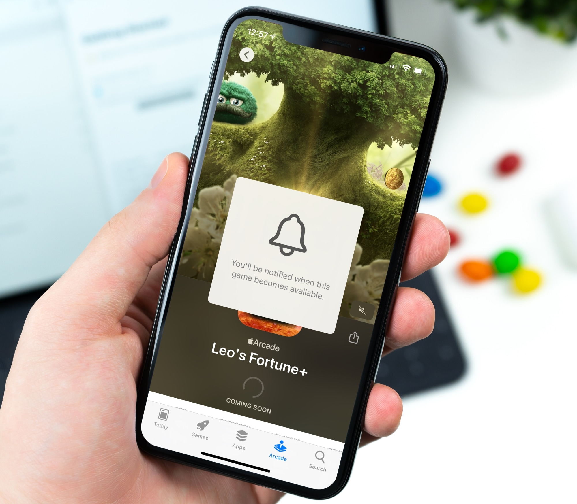 Notify for New Apple Arcade Games on iPhone