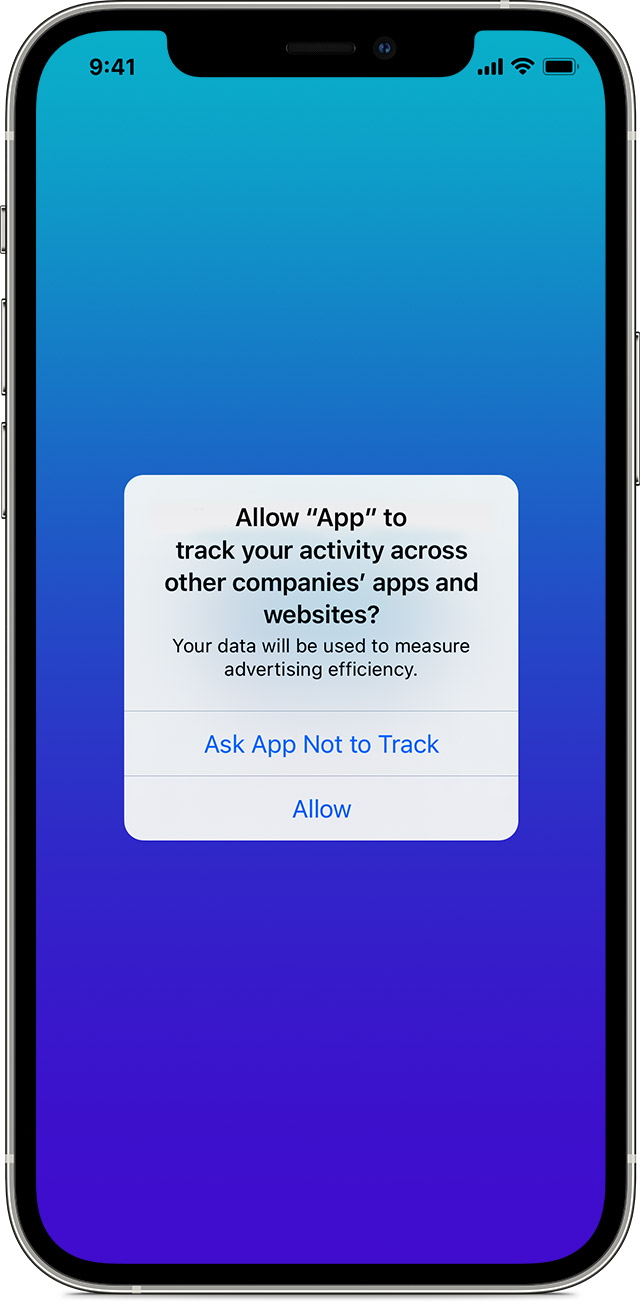 iPhone Allow Apps to Request to Track grayed out