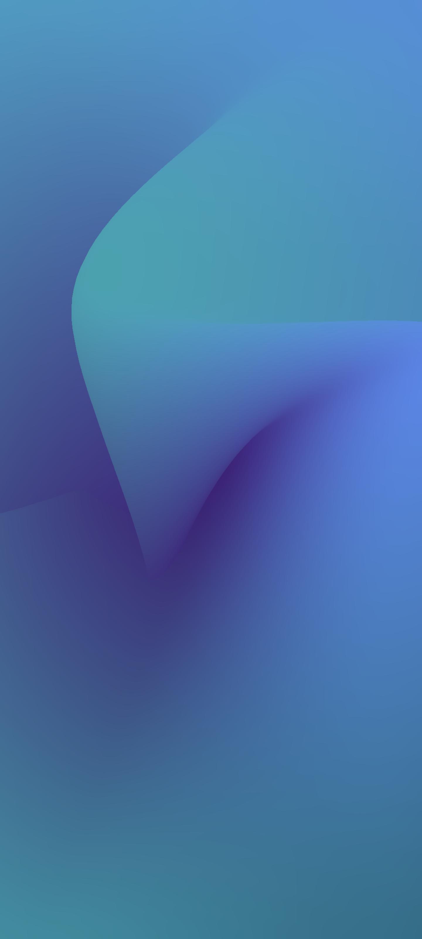 Mesh Gradient Wallpaper for iPhone idownloadblog yudhajit_ghosh Blue