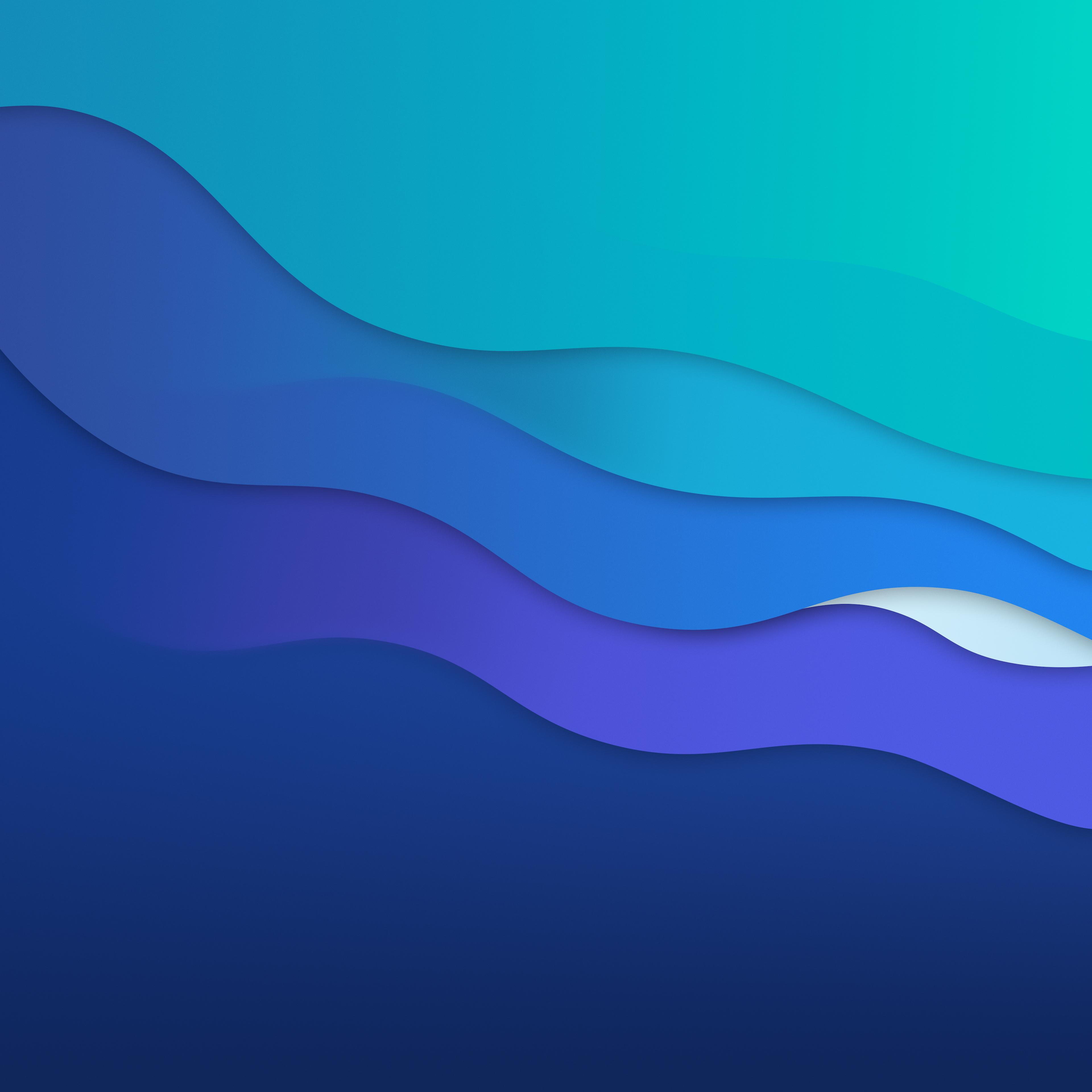 macOS Big Sur wallpaper inspiration javierocasio idownloadblog Waves Dark Alt 4K