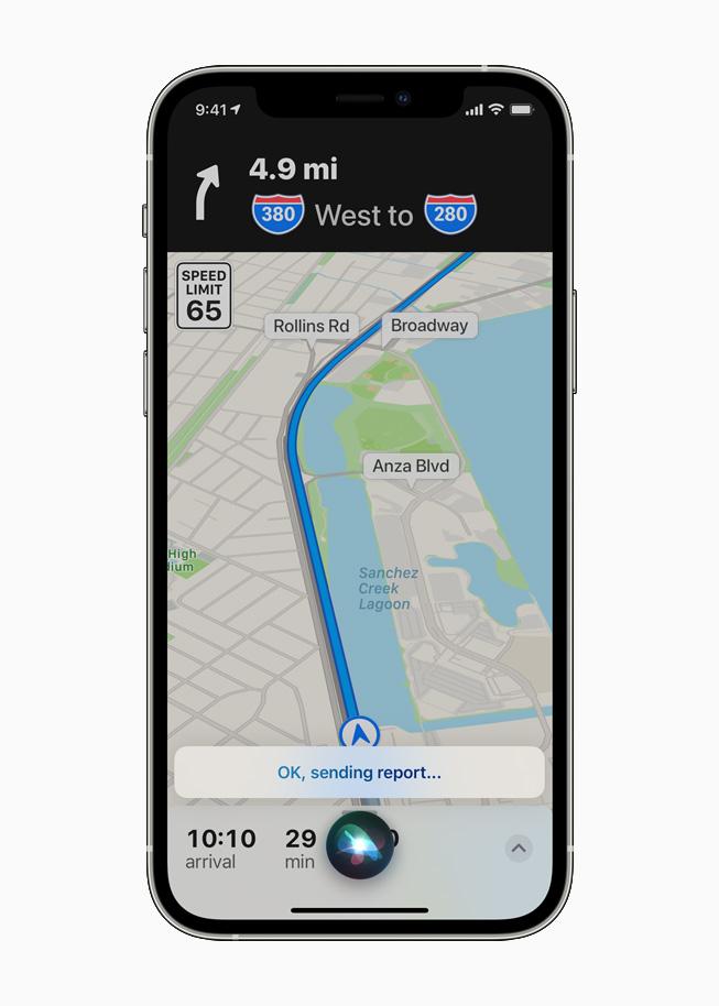 Siri Incident Report Apple Maps