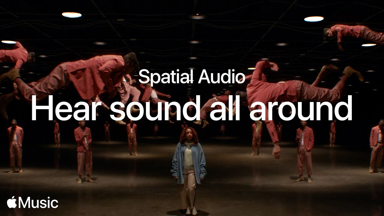New AirPods features - spatial audio promotional image