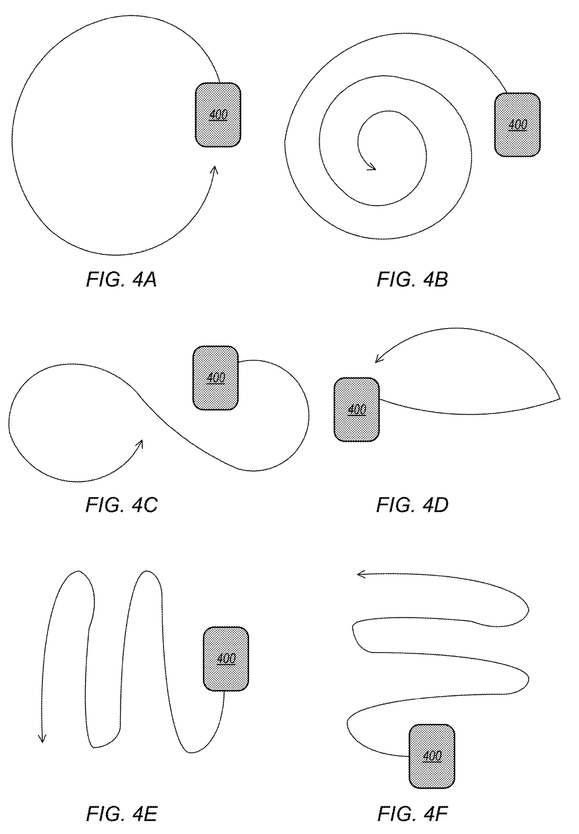 light field iPhone illustration showing supported camera gestures