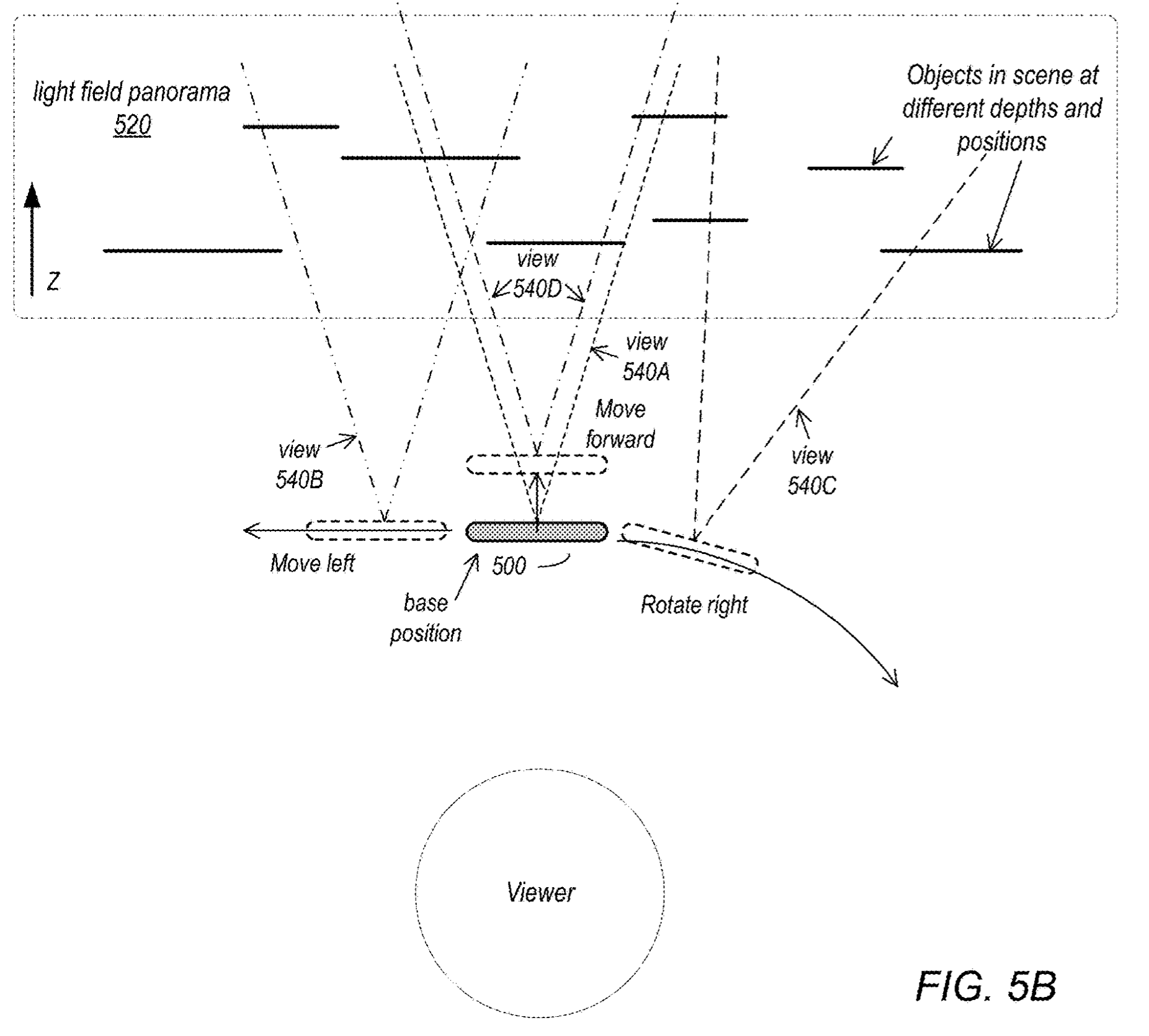 light field iPhone patent illustration