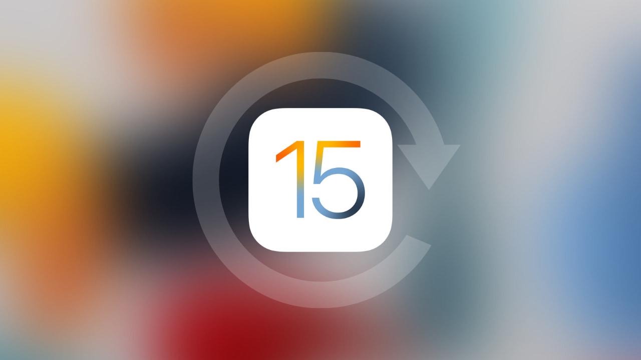 Downgrade iOS 15