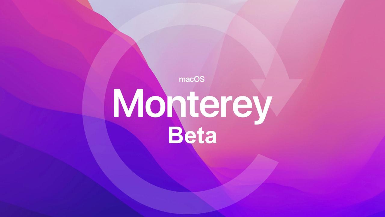 Downgrade macOS monterey