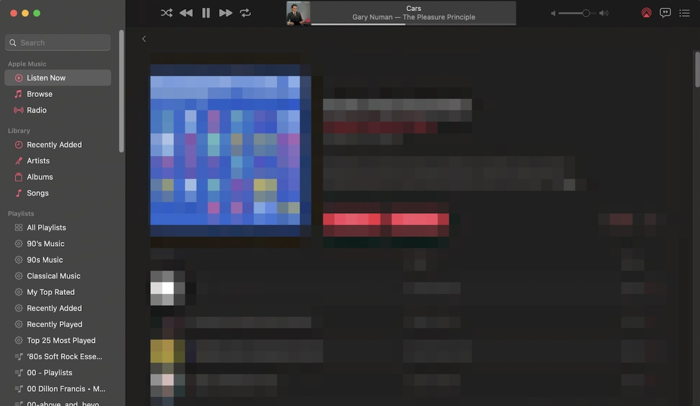 Pixelate image on Mac