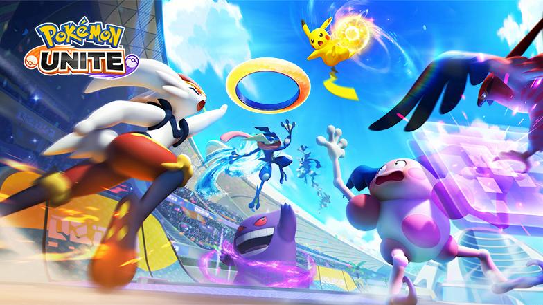 Pokemon Unite featured graphics