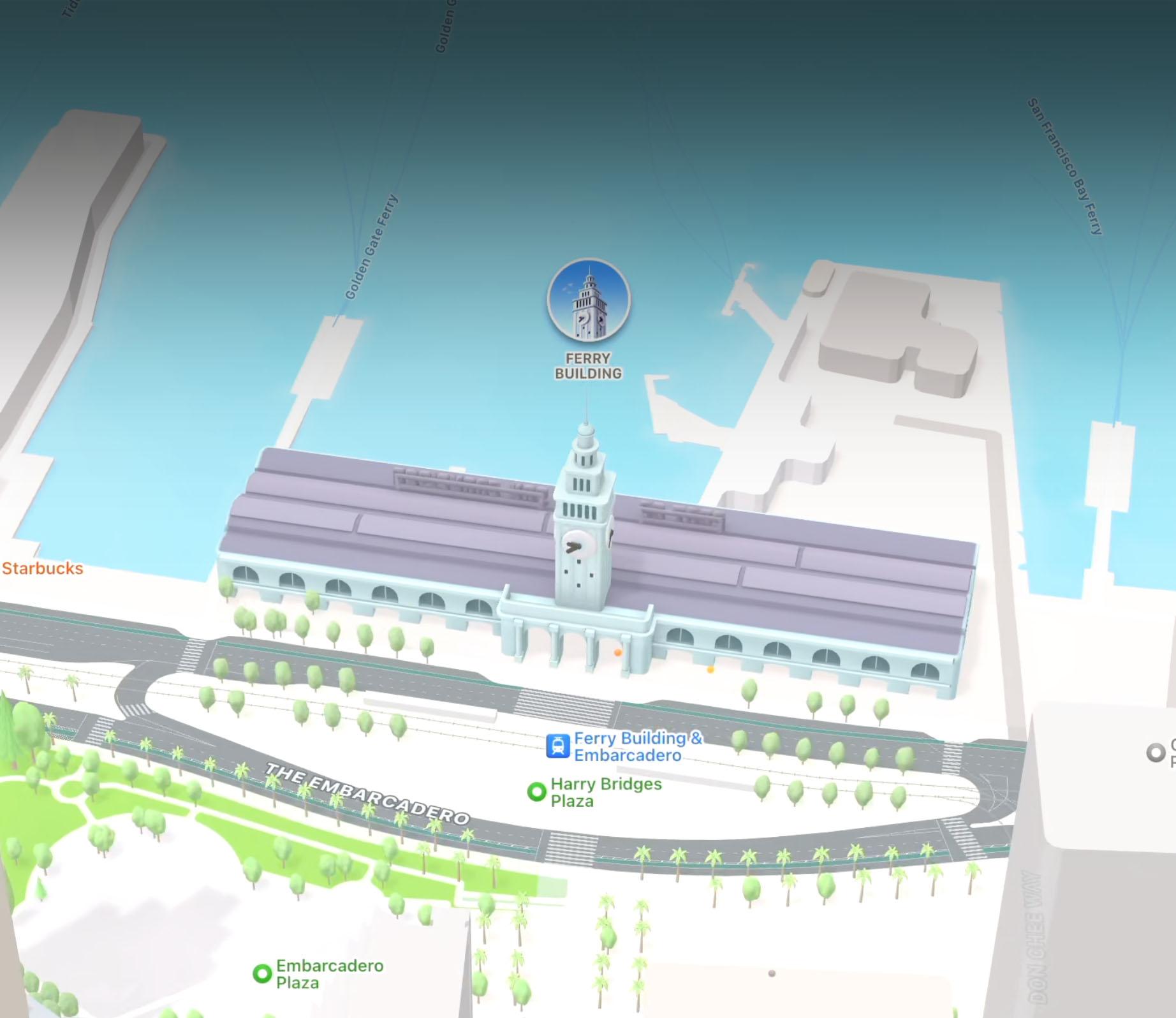 3D landmarks in Apple Maps on iOS 15