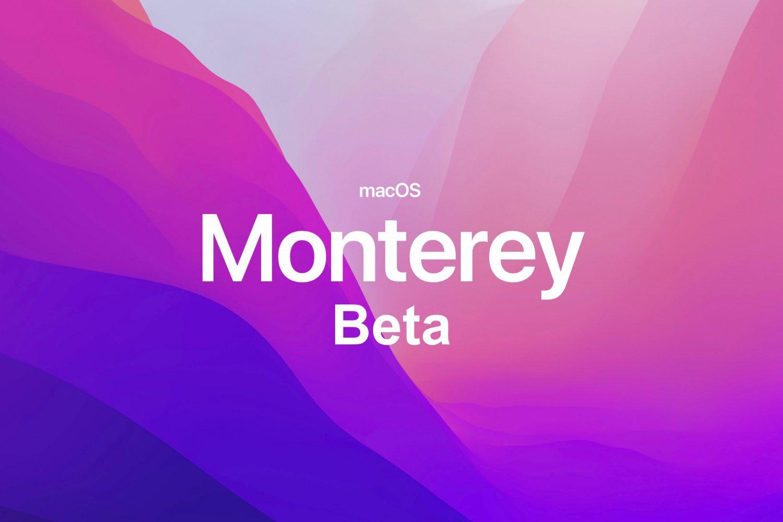 macOS Monterey beta